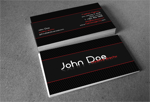 Free Fashion Business Card