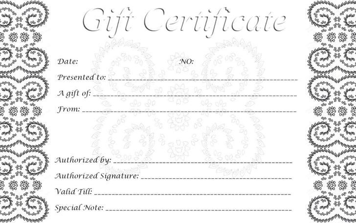 Download Gift Certificate Template For Free Tidytemplates