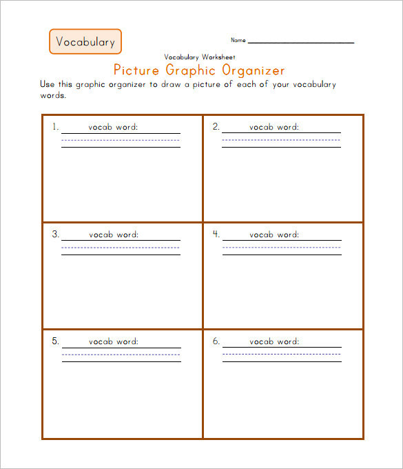 Christmas Tree Graphic Organizer: 8+ Blank Vocabulary Worksheet Templates Free Download