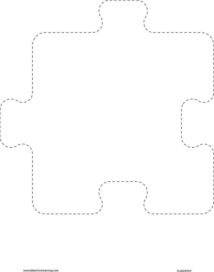 Free Puzzle Pieces Template Download