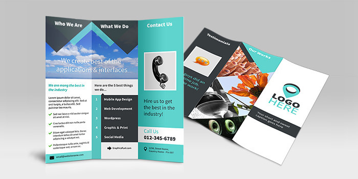 Free Tri-Fold Brochure PSD