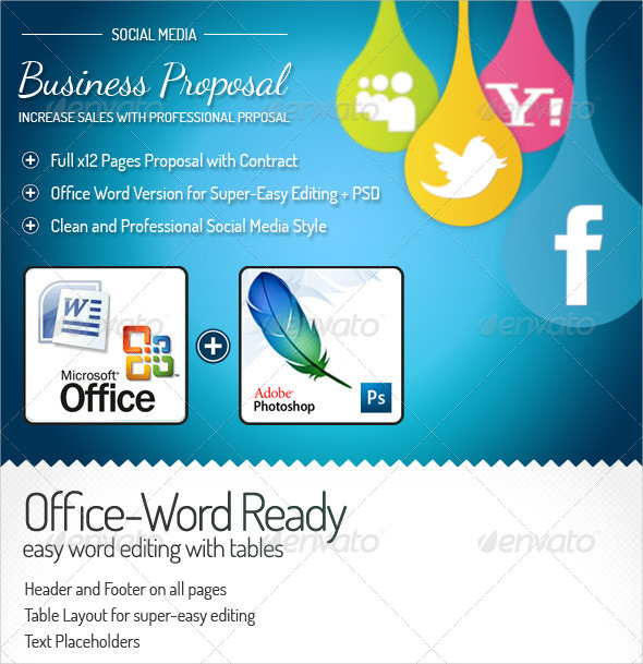 Generic Business Proposal Template | 37 Proposal Templates Free Download