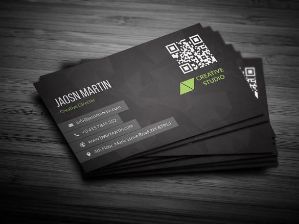 Fully Editable Creative Business Card