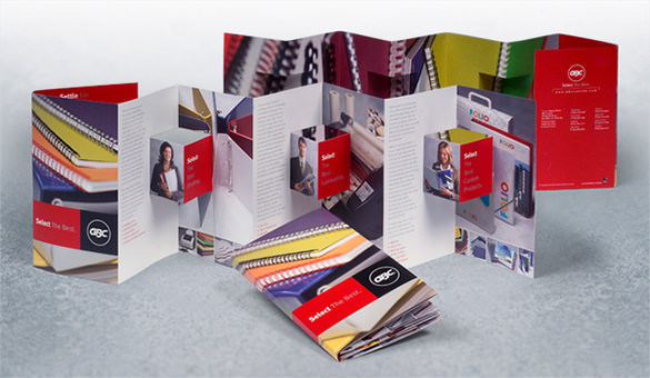 GBC - Direct Mail and Sales Brochure Template