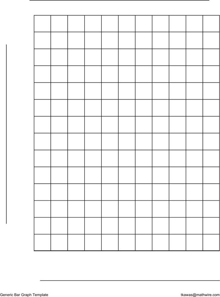 Generic Bar Graph Template