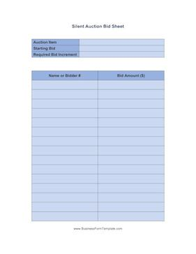 Generic Sign In Sheet Template Word Download