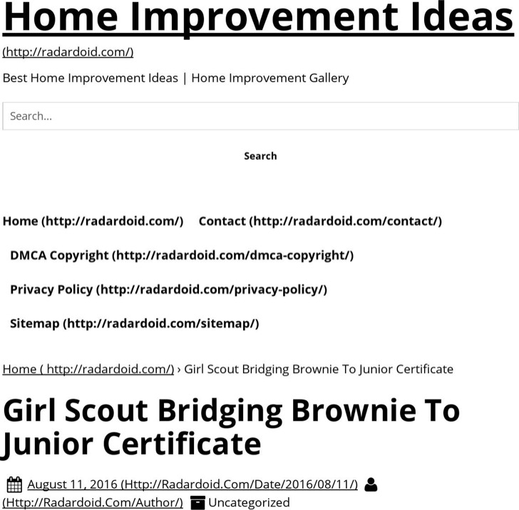 5 Girl Scout Certificate Templates Free Download