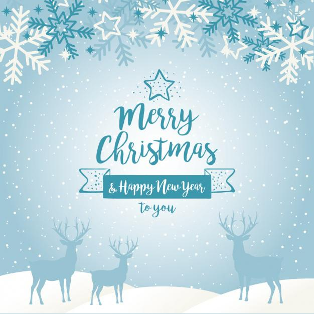 Good Christmas Card AI Format Download
