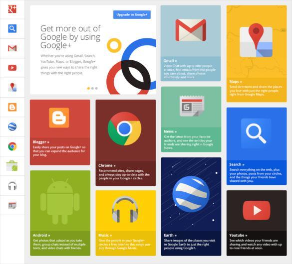 Google Grid App Designs