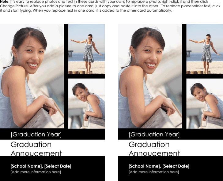 Graduation Announcement Template 2