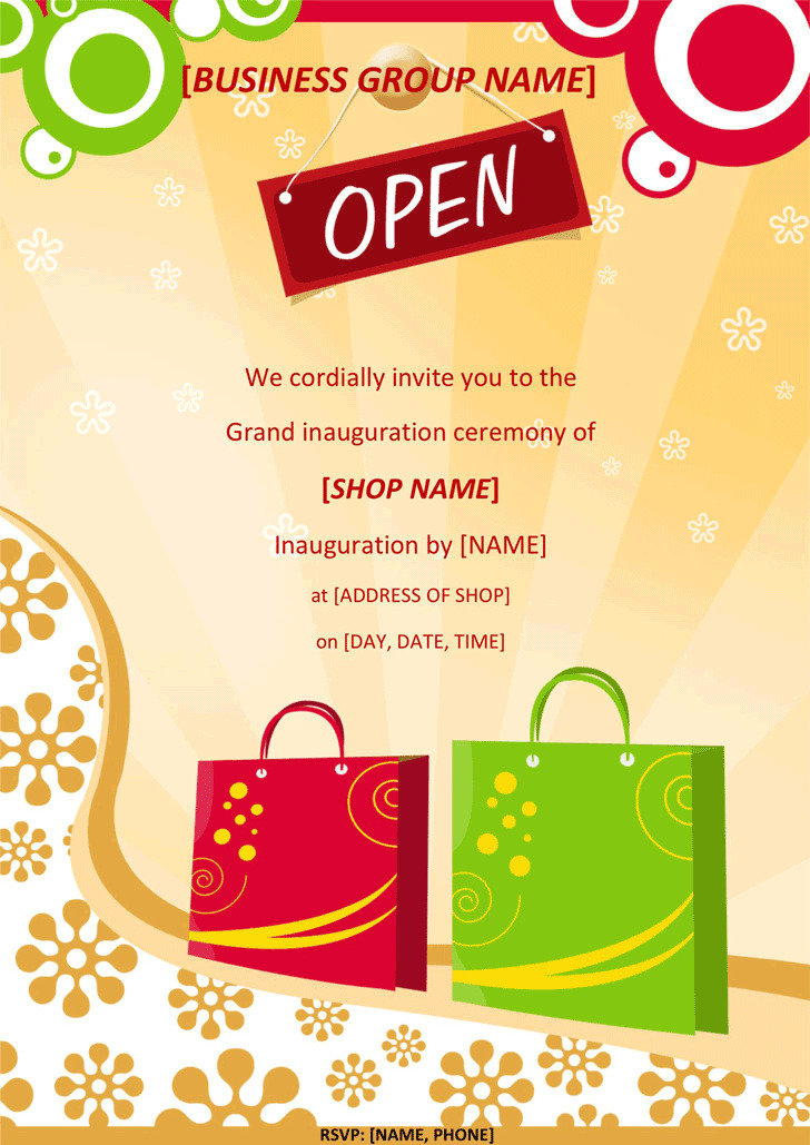Grand Opening Flyer 1