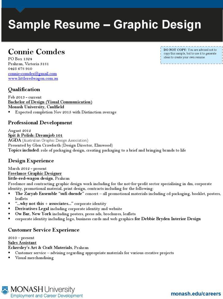 Graphic Artist Resume