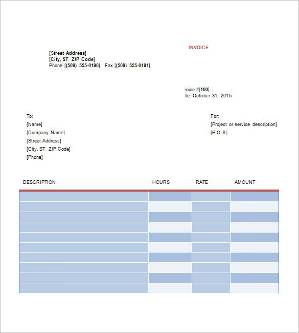 Graphic Work Order Template Download