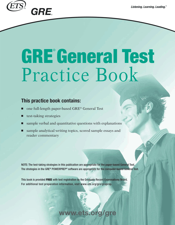 GRE Sample Questions Template 1