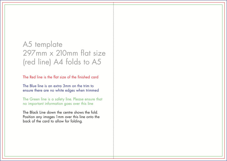 Greeting Card Template 1