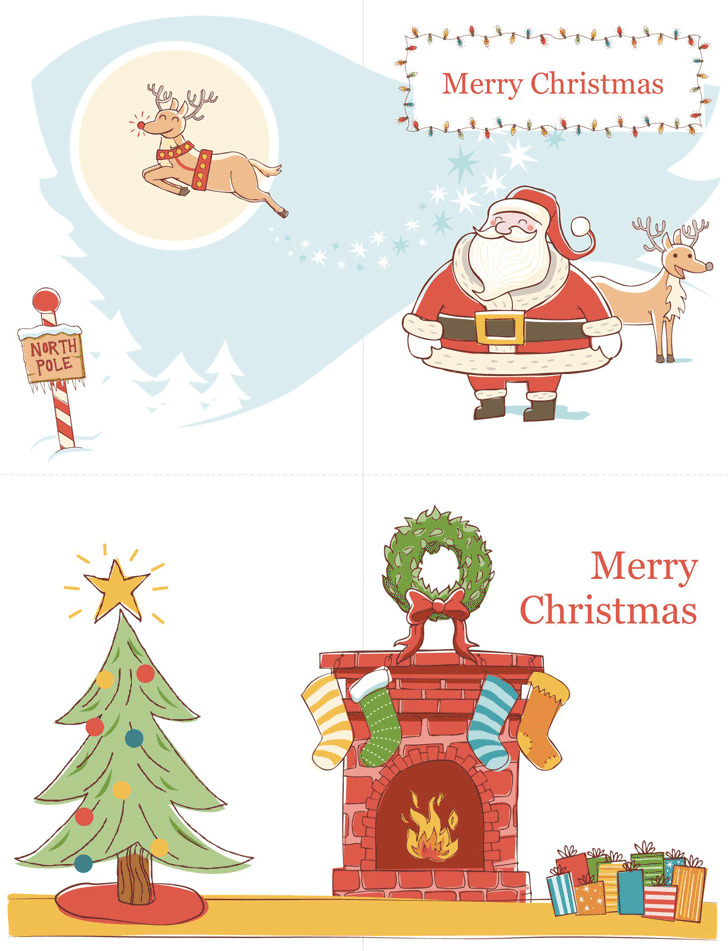 Greeting Card Template 3
