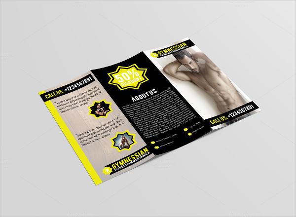Gymnessian Tri Fold Gym Brochure