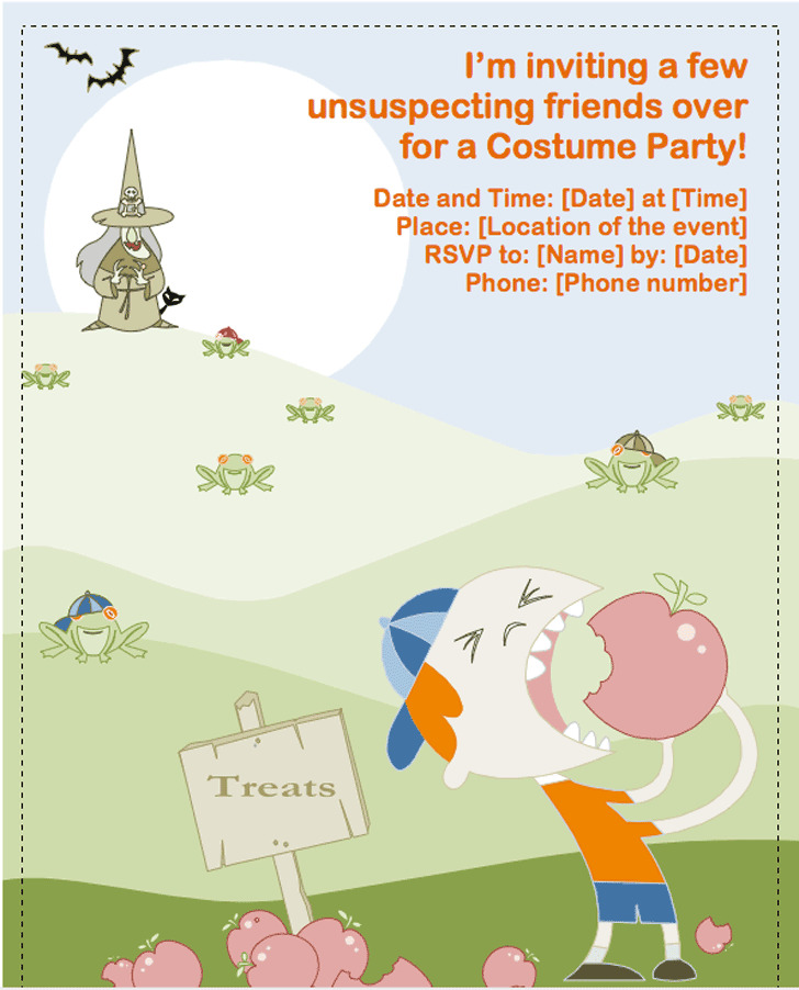 Halloween Party Flyer 2