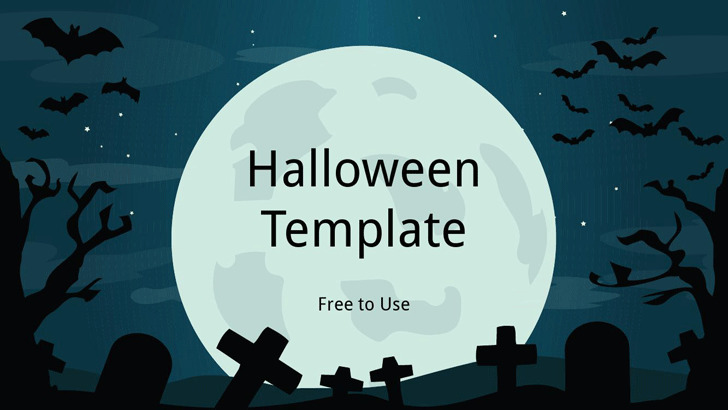 Halloween Powerpoint Template 1