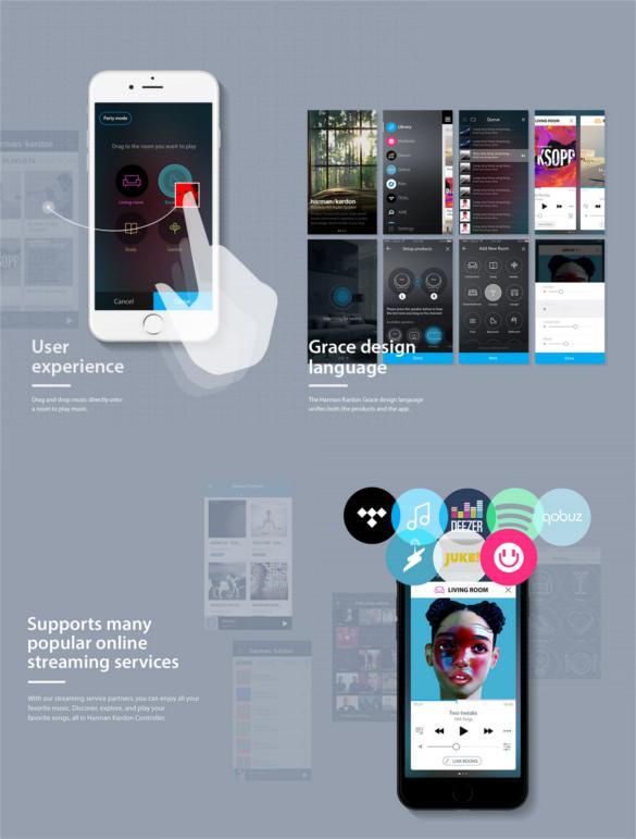 Harman Kardon Controller App Design