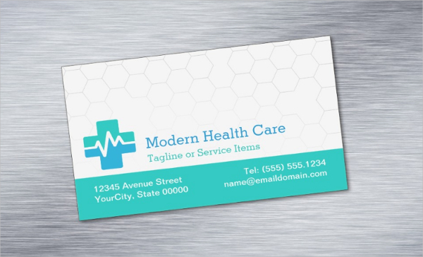Health Care Magnetic Business Card