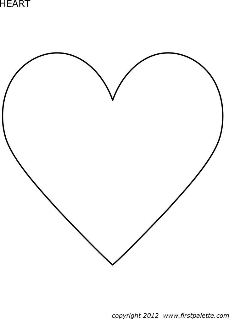 Heart Template 1
