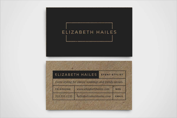 Hipster Modern Business Card Template