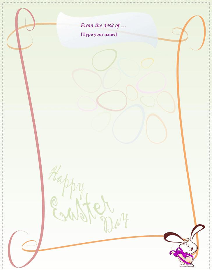 Holiday Letterhead Template 2