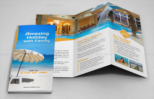 Holiday Resort Brochure