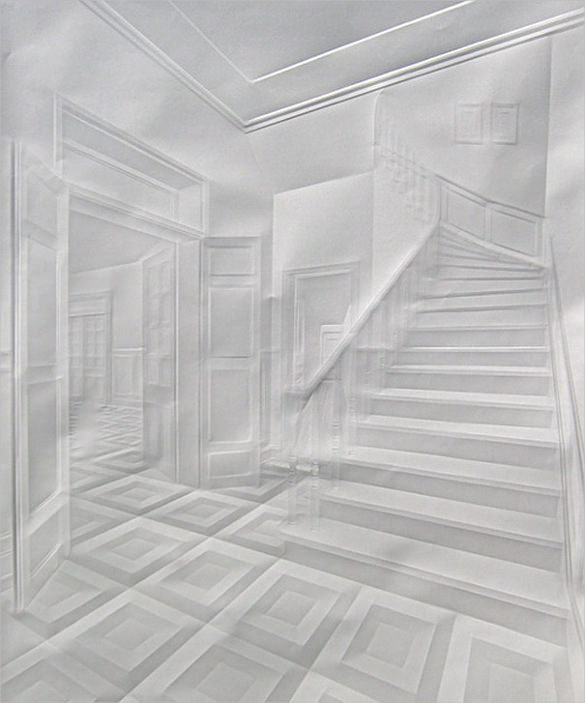 Home Internal Paper Art Design