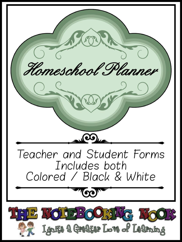 Home School Day Planner