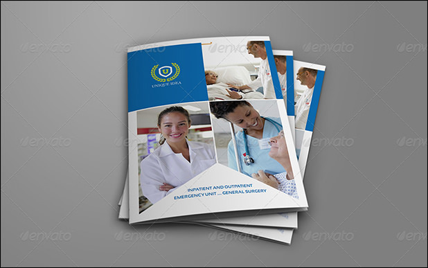 Hospital bi-fold brochure