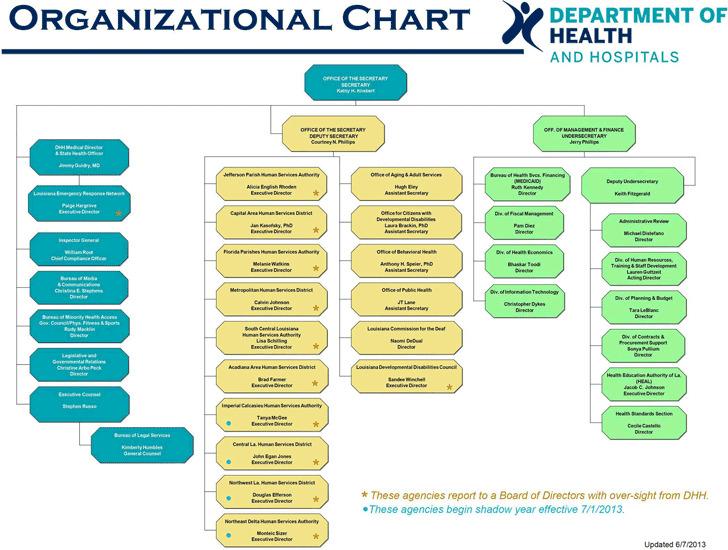 Hospital Organizational Chart 2