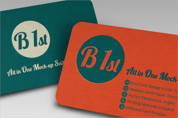 Hot Foil Embossed Business Card