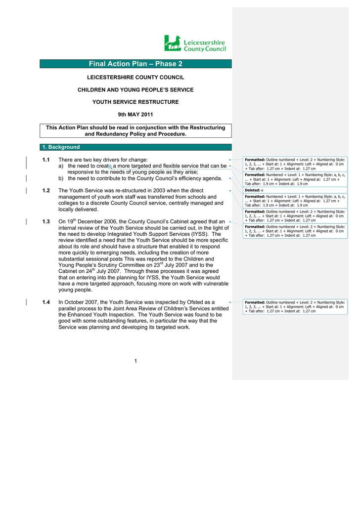 HR Action Plan Template Word DOC Download