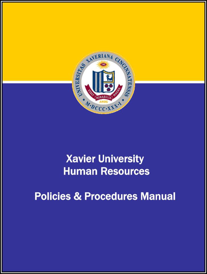 Hr Process Manual Template