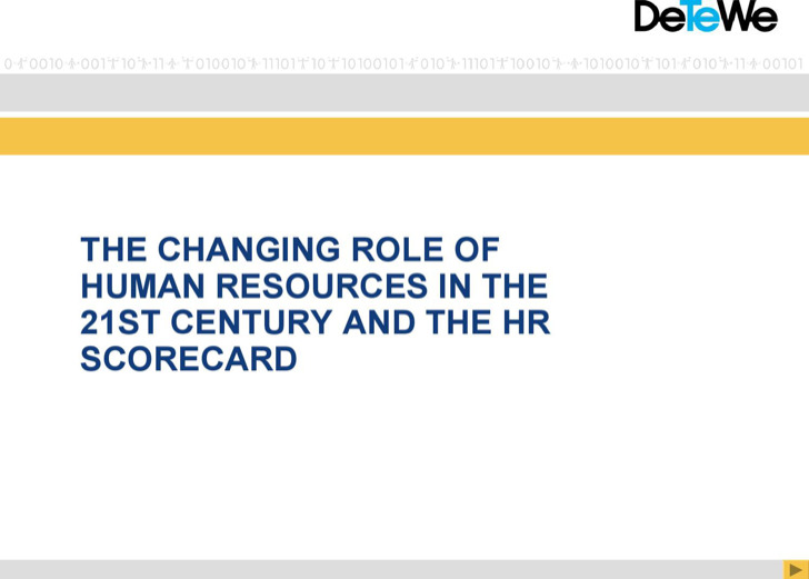 Hr Scorecard Template1