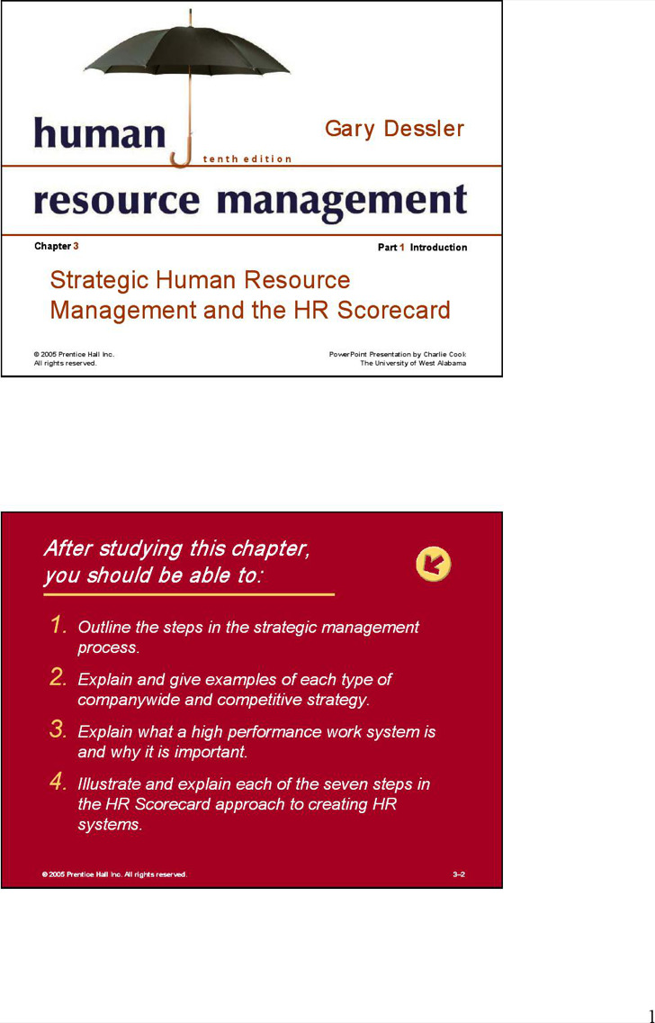 Hr Scorecard Template2