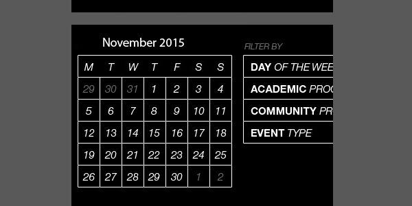 Download Html Events Calendar Template For Free Tidytemplates