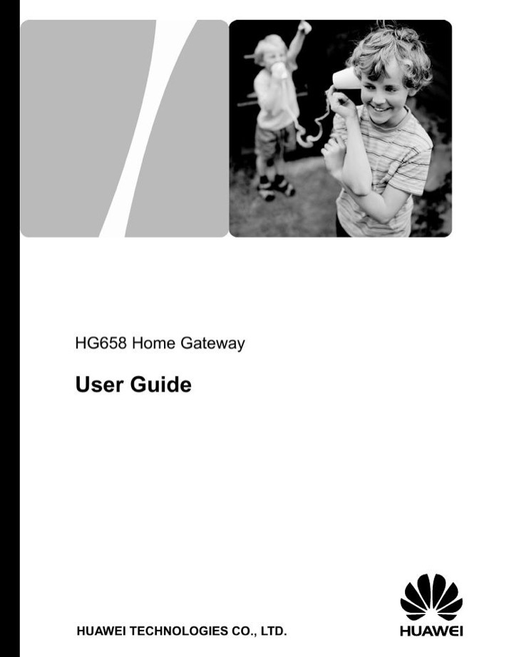 Huawei Owners Manual Sample