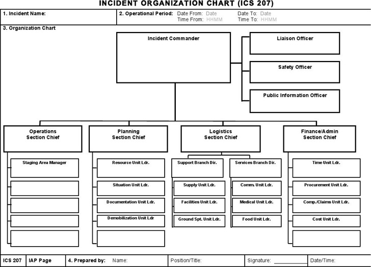ICS Organizational Chart 1