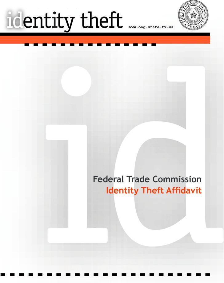 Identity Theft Affidavit 2