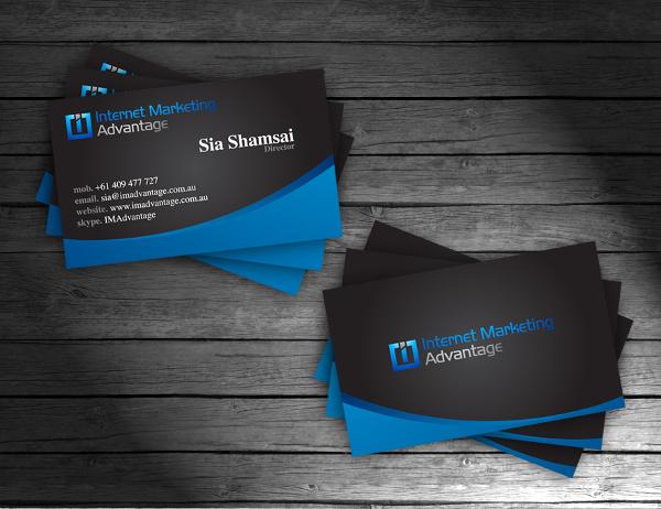 IMA Business Cards Design