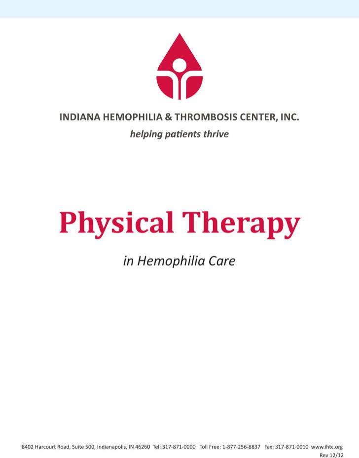 Indiana Hemophilia And Thrombosis Center Inc