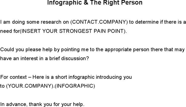 Infographic The Right Person