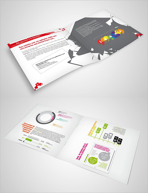 Information Digital Brochure Template Design
