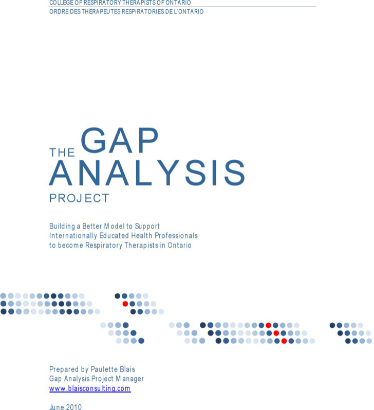 Information Technology Project Gap Analysis Template