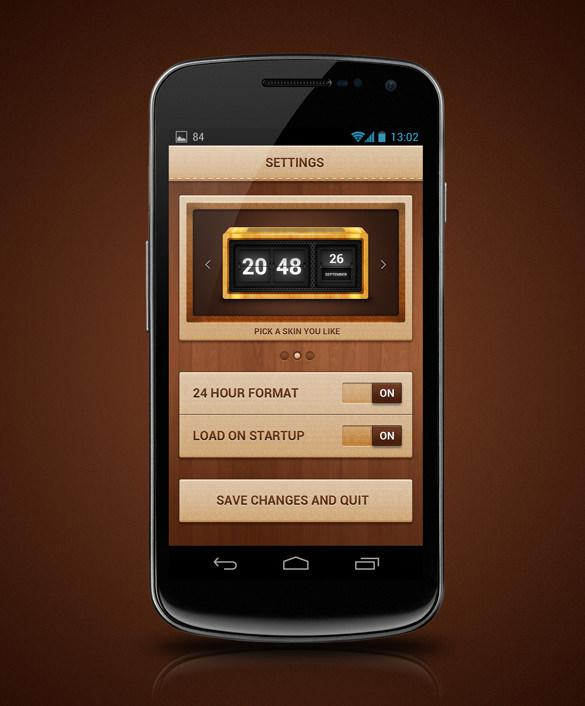 Inspirational Android Application and Widget Design