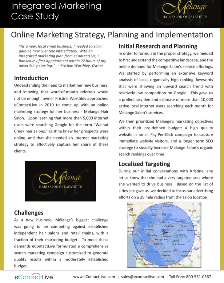Integrated Marketing Case Study