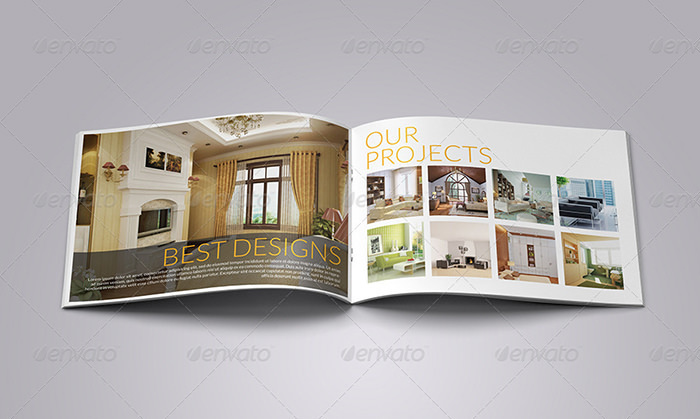 Interior Design Brochure / Catalogue